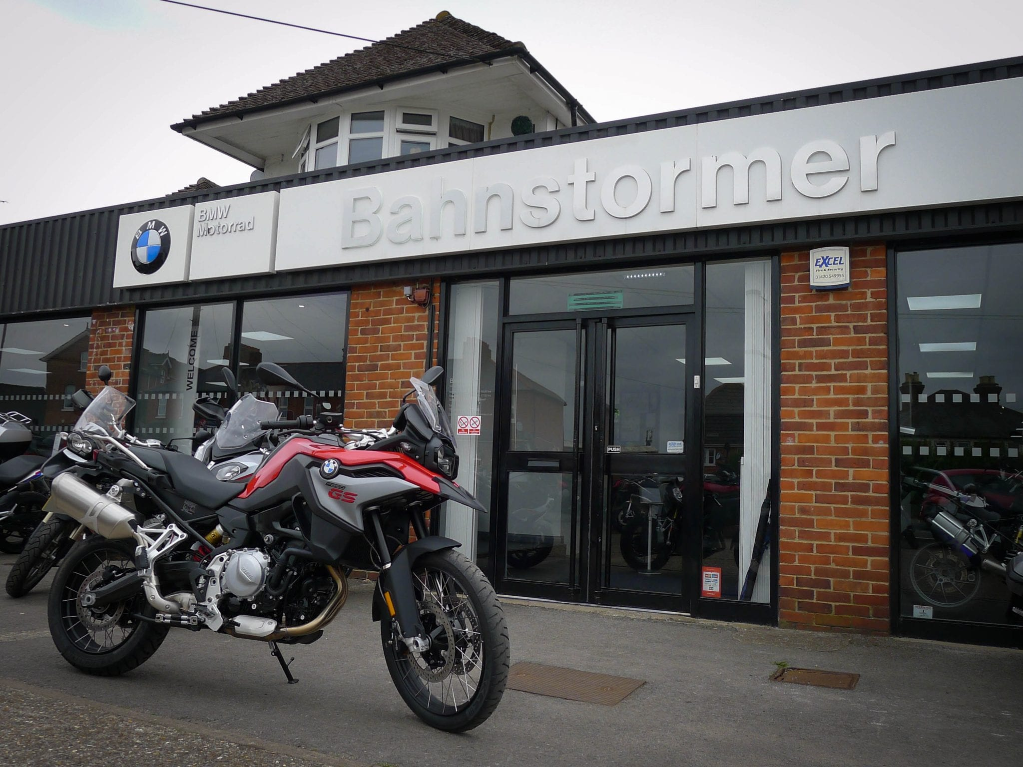 BMW F850GS at Bahnstormer Maidenhead