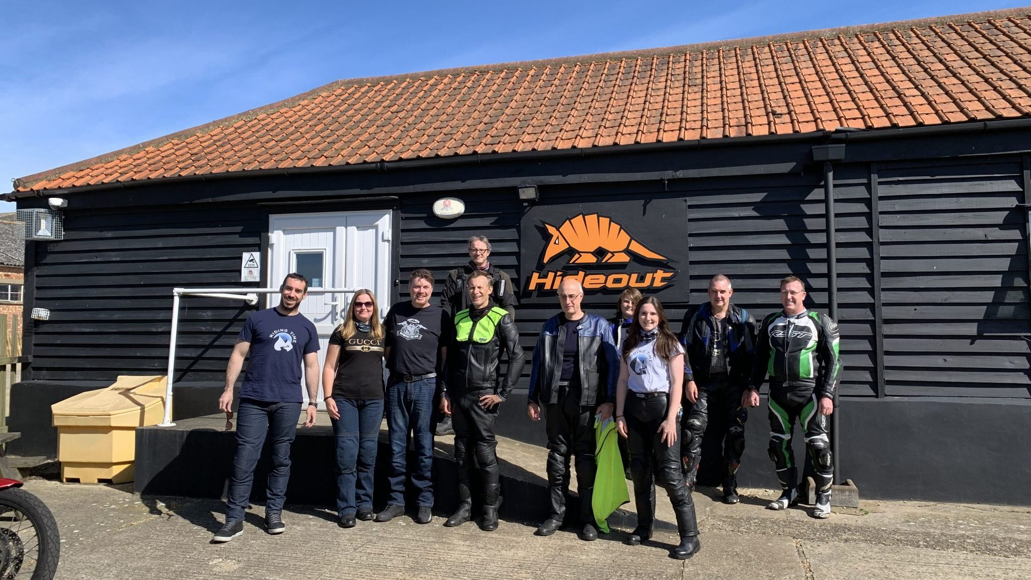 Hideout Ride group photo